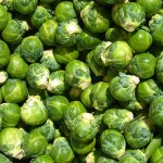 Brussels Sprouts with Mushrooms & Almonds