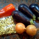 Ensalada Belen (Roasted Eggplant Salad)