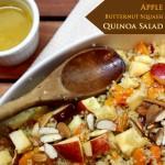 Apple, Butternut Squash & Quinoa Salad + I wish you love