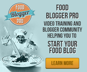Food Blogger Pro Learn More