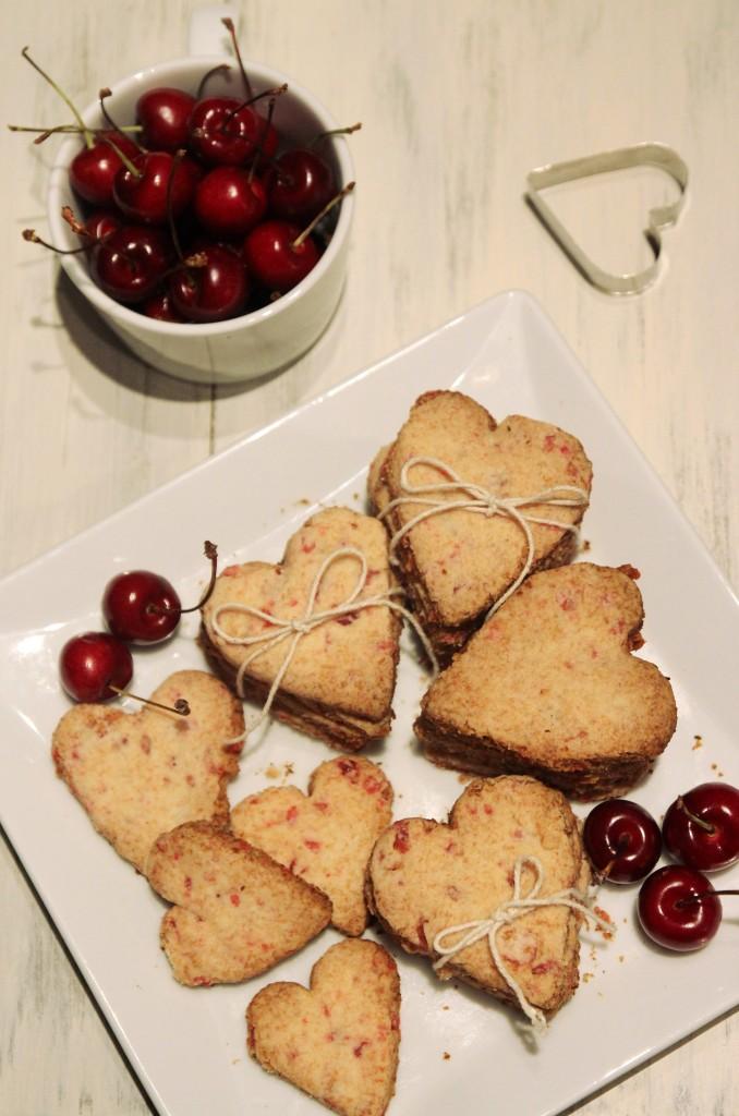 Grain-free Cherry Shortbread Cookies11