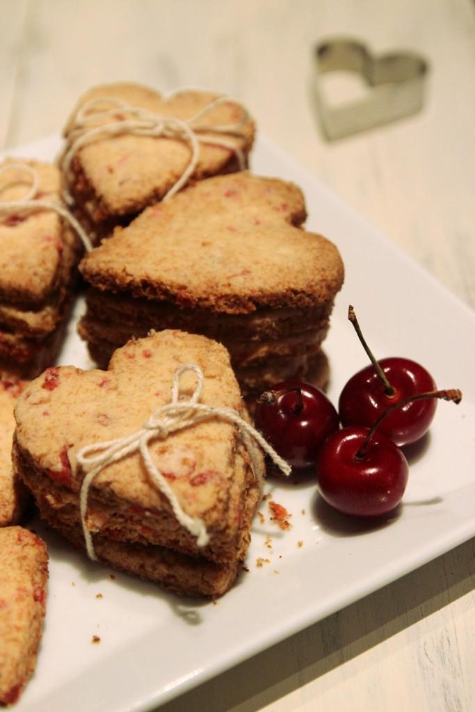 Grain-free Cherry Shortbread Cookies12