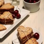 Grain-Free Cherry Shortbread Cookies
