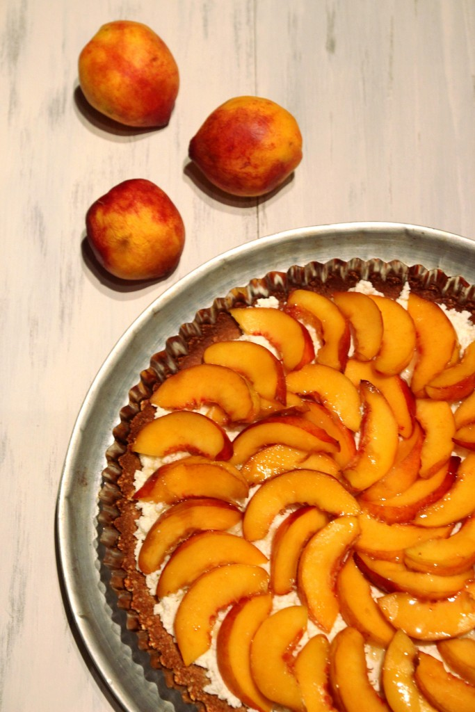 Honey Peach & Ricotta Tart with Almond Crust6