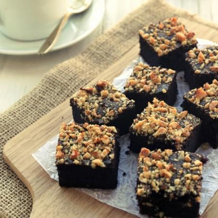 Grain-free Double Chocolate Brownies