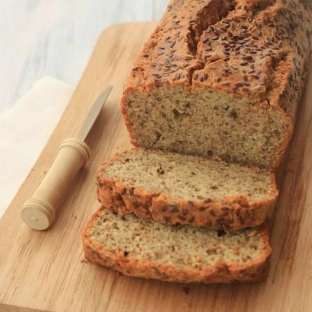 Grain-free Flax Almond Bread