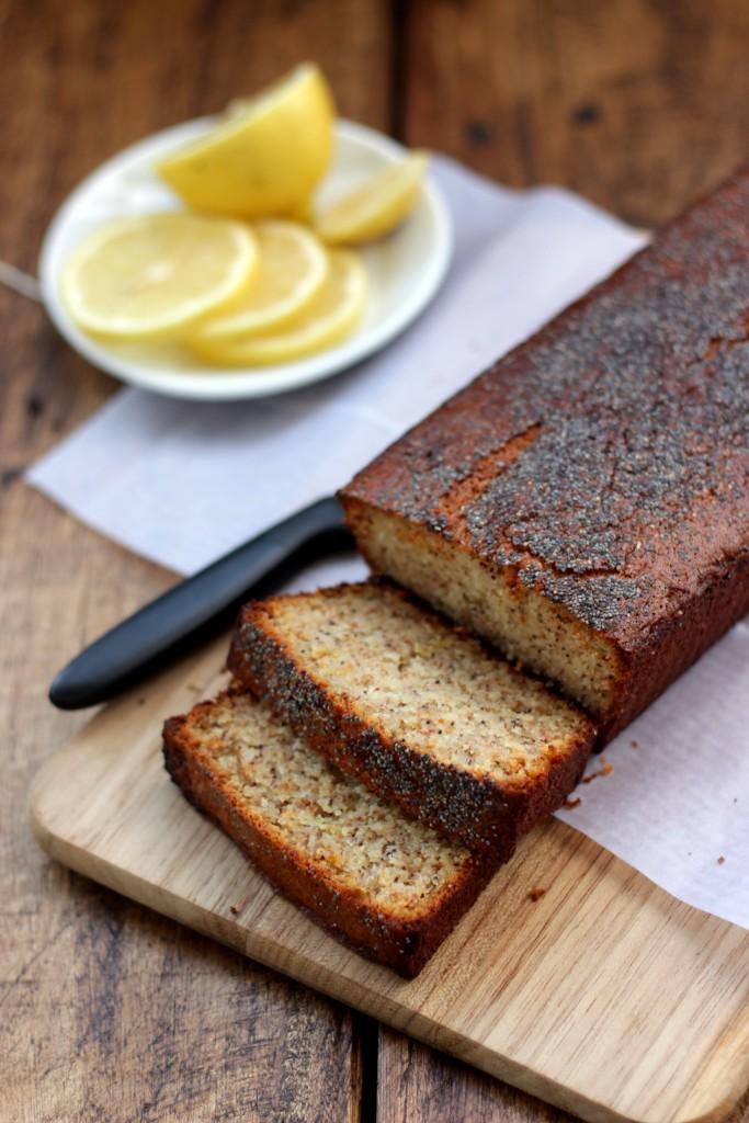 Grain-free Lemon Poppyseed Bread