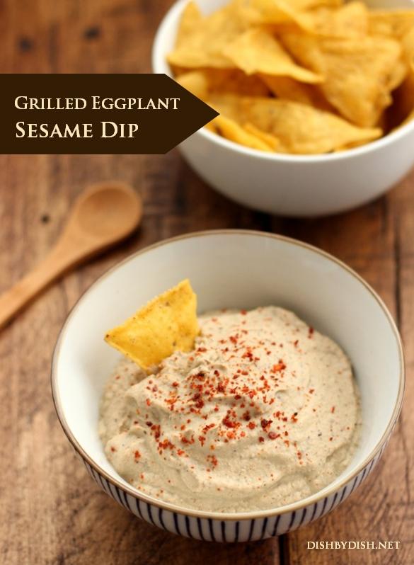 Grilled Eggplant Sesame Dip