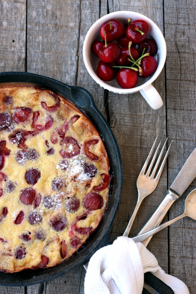 Gluten-free Cherry Clafoutis