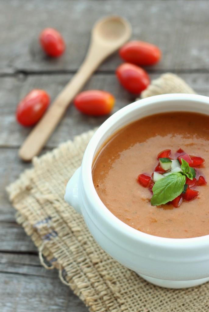 Tomato & Bell Pepper Gazpacho