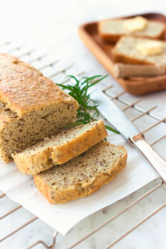 Grain-free Rosemary Almond Bread