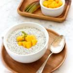 Mango Chia Seed Pudding