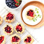 Gluten-free Mini Mixed Berry Galettes