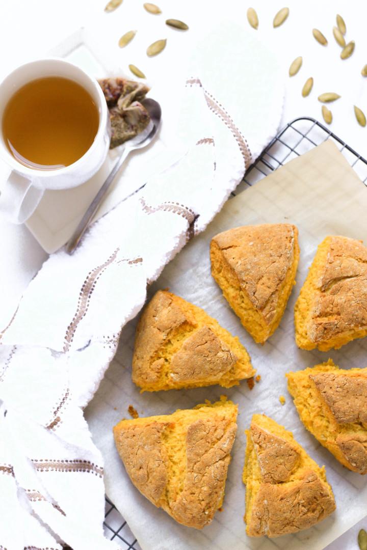 Gluten-free Pumpkin Scones