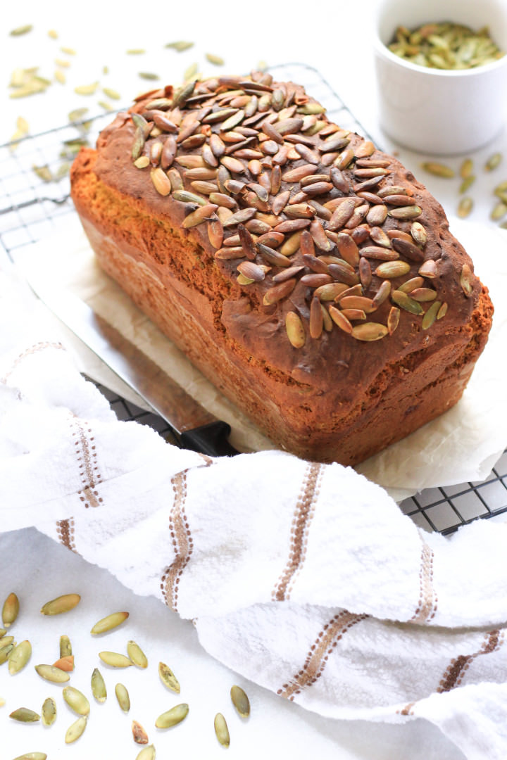 Super Moist Gluten-free Pumpkin Bread