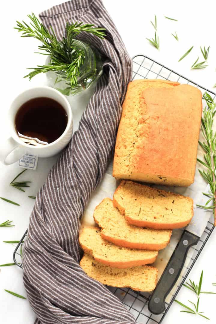 Gluten-free Rosemary Cornbread