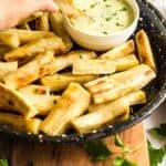 Crispy Baked Yuca Fries (Gluten-Free, Vegan)