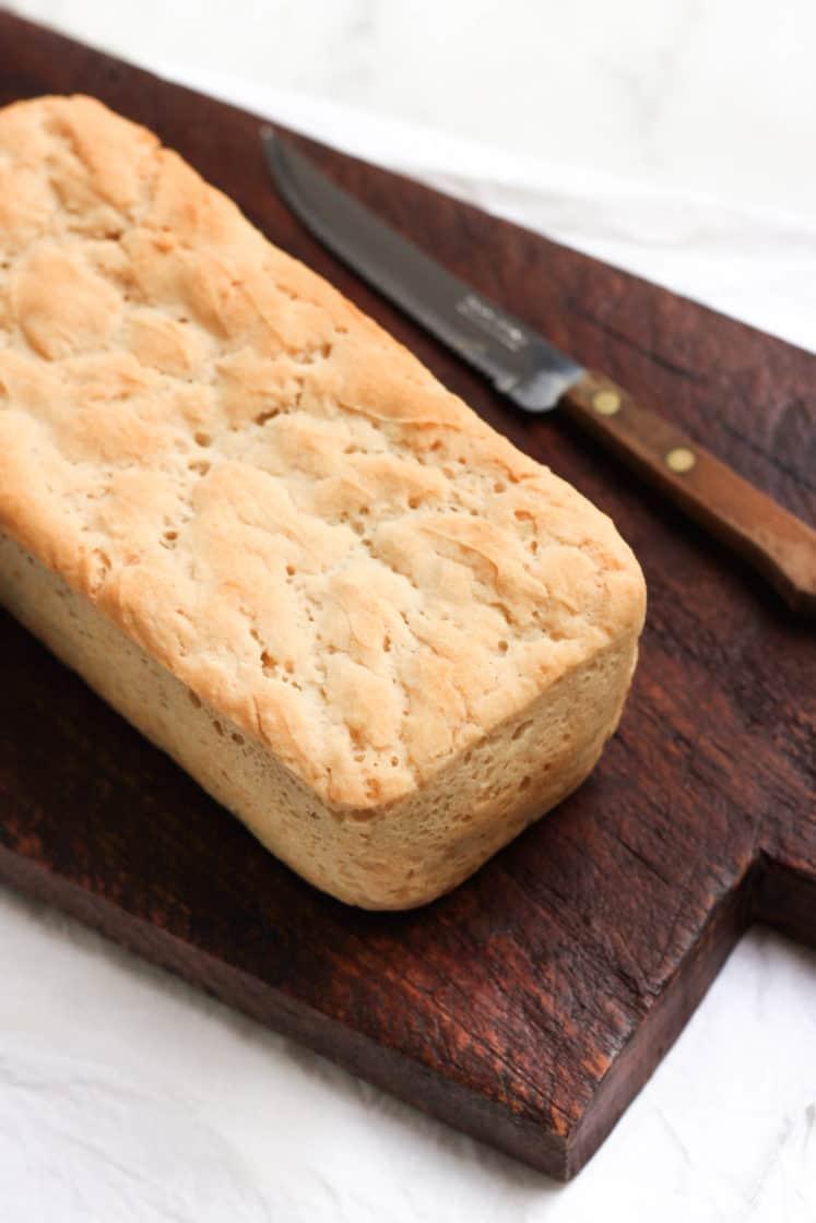 Easy Gluten-free Sandwich Bread (Vegan)