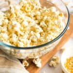 Easy Stovetop Popcorn (with Microwave option)