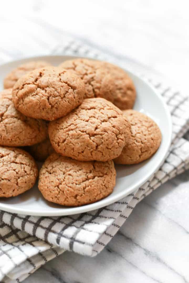 Gluten-free Almond Butter Coconut Flour Cookies