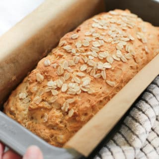 Gluten-free Honey Oat Quick Bread