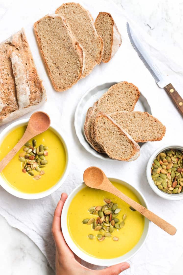 Gluten-free Vegan Pumpkin Soup
