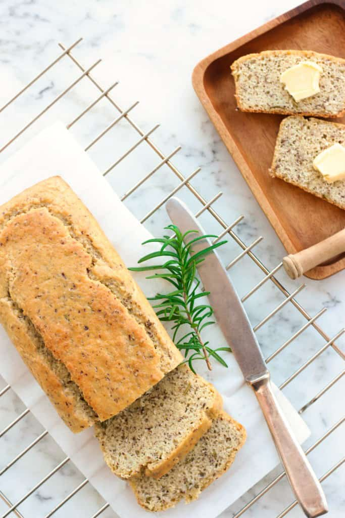 Grain-Free Rosemary Almond Bread