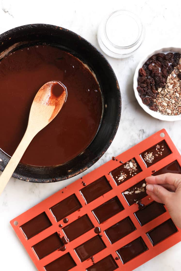Homemade Raisin & Seed Chocolate