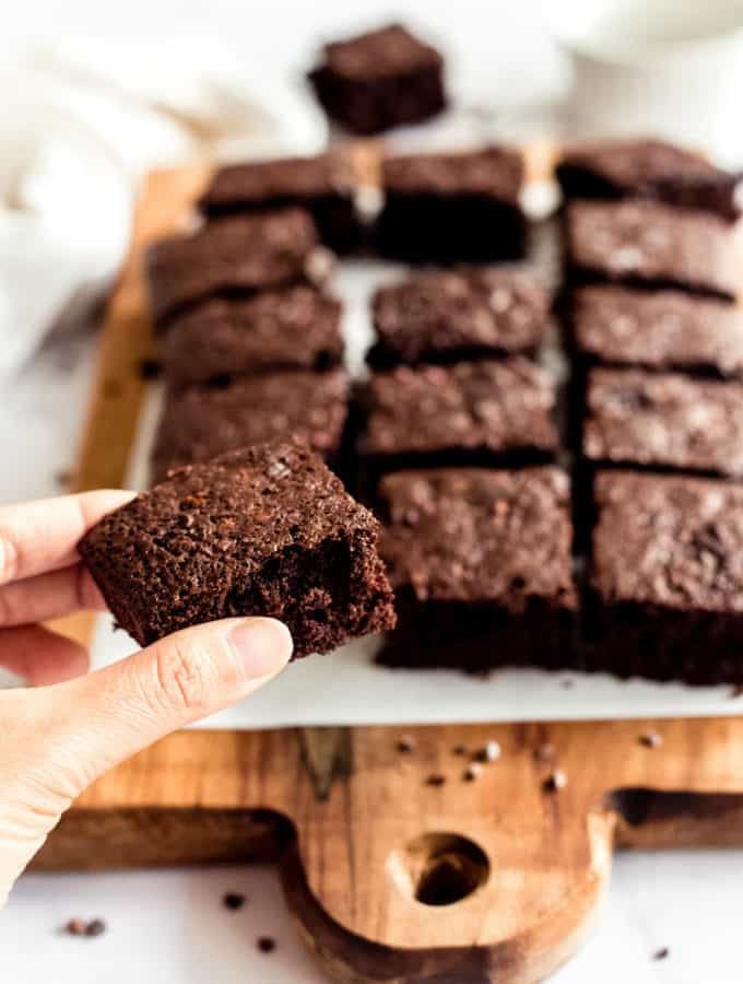 Perfect Fudgy Gluten-Free Brownies